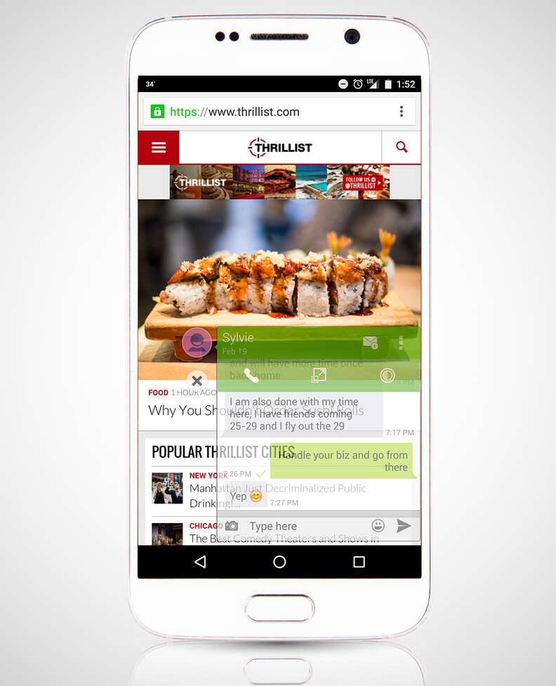 HoverChat android app
