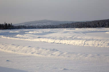 White Hell in Ivalo, Finland