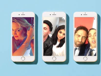 Kate Hudson Kylie Jenner Steve-O on Snapchat