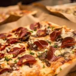 pepperoni pizza from bryan st tavern pizza dallas