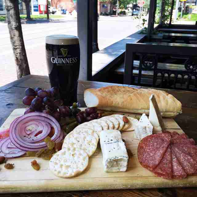 idle rich pub cheese board dallas