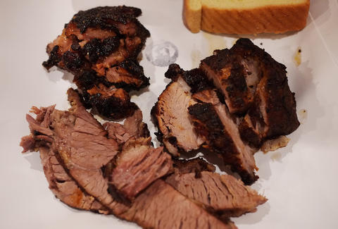 brisket from John Brown Smokehouse