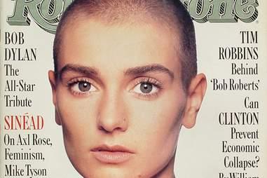 Sinead O'Connor Bald