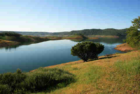 New Melones Lake California