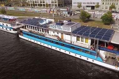 berlin eastern comfort hostelboat germany hostel