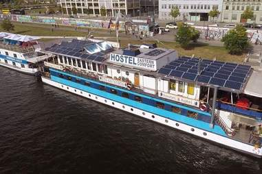 berlin eastern comfort hostelboat germany hostel