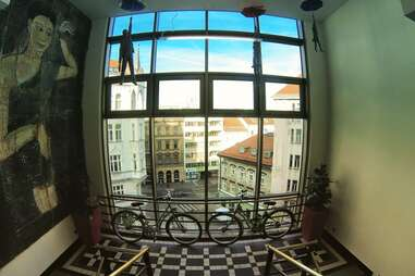 mosaic house prague best hostels in europe