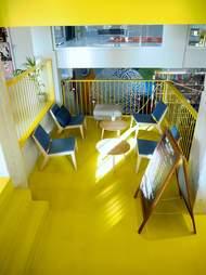 interior ClinkNoord hostel amsterdam