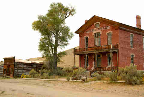 historic hotel, american west, bannack Montana