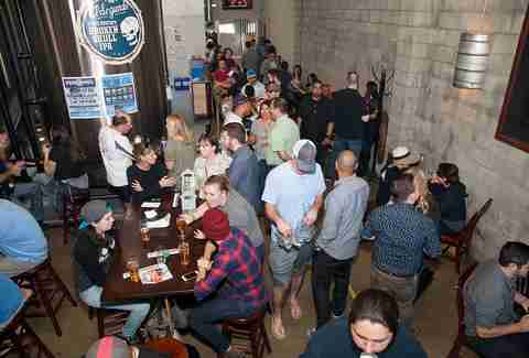 Crowd at El Segundo Brewing Co.
