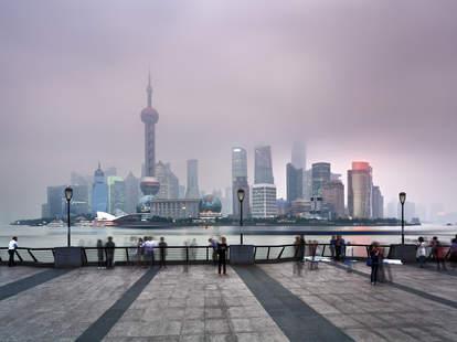 china, shanghai, pollution, smog, china pollution