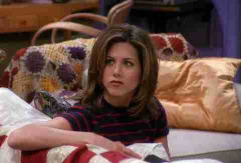 Rachel played by Jennifer Aniston on Friends