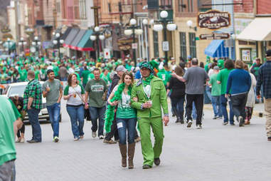 Deadwood, SD St. Patrick's Day
