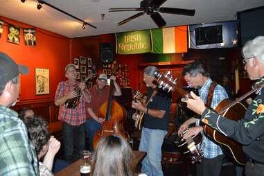 Irish folk music at The Plough and Stars