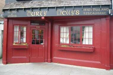 exterior of Durty Nelly's Irish bar