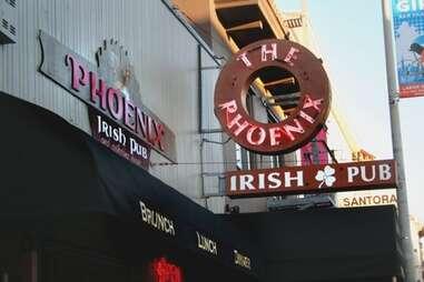 exterior of Phoenix Irish Pub