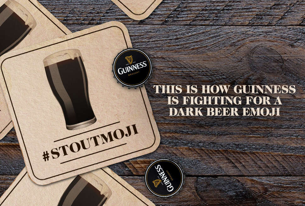 This Is How Guinness Is Fighting for a Dark Beer Emoji