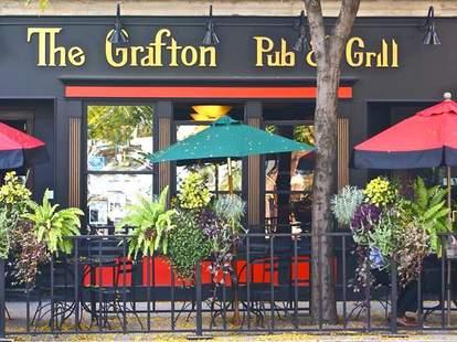 exterior or the grafton pub