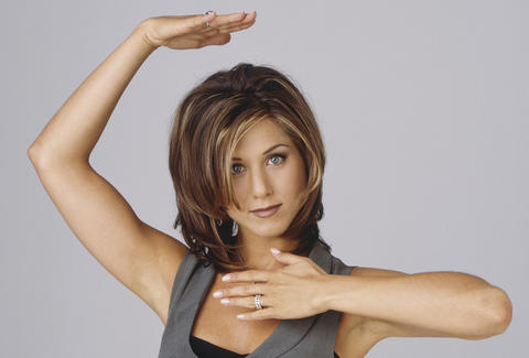 Rachel Green Played By Jennifer Aniston in Friends