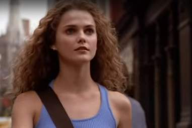 Felicity, Keri Russell, curly hair