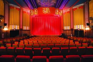 inside the coolidge corner movie theatre in brookline boston