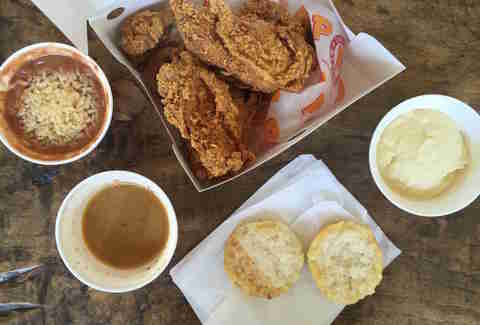 Popeye's Gravy Biscuit Fried Chicken
