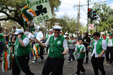 irish channel parade