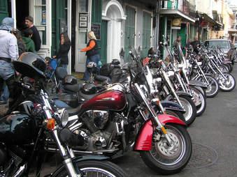 st. patricks day bike night, motorcycles