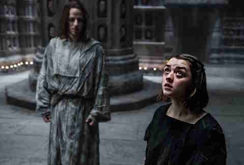 Arya Stark Game of Thrones HBO show