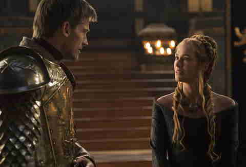 Cersei and Jamie Lannister Game of Thrones HBO show