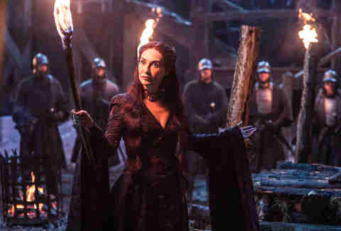 Melisandre Game of Thrones HBO show