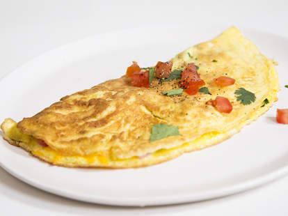 omelet plain