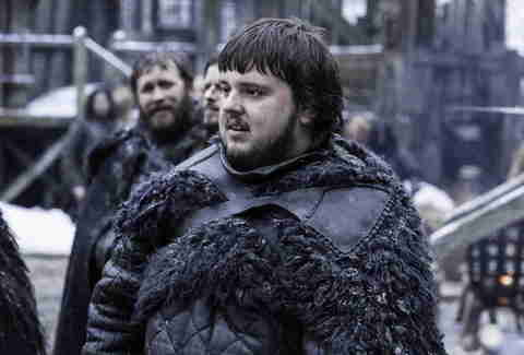 Sam Tarly HBO Game of Thrones show