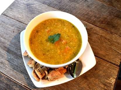 La Panthère Verte, soup