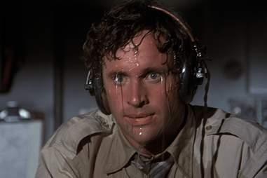 airplane movie sweating