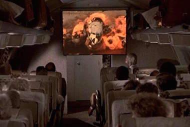 airplane - in-flight entertainment
