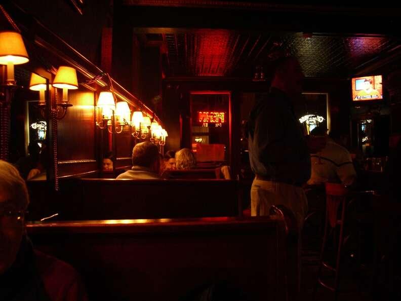 Monterey Pub's cozy interior