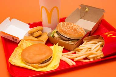 McDonald's burger quarterpounder