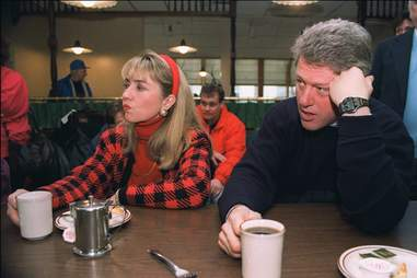 Bill and Hillary Clinton in the 90s