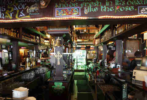 Interior of Rosie McCaffrey's