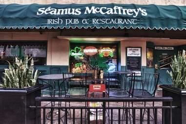 Exterior of Seamus McCaffrey's