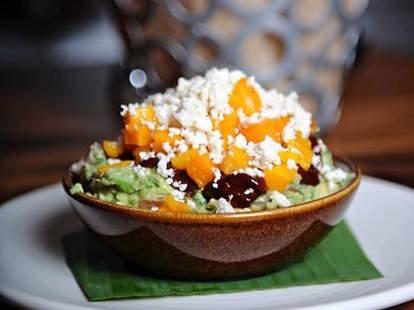 Alma Cocina butternut squash guacamole in Atlanta
