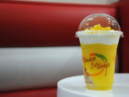 Snow White Mango Slush-O, Mango Mango