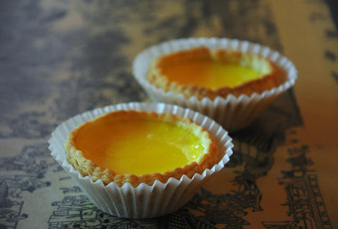 egg tart, Bread Talk, New york City Chinatown