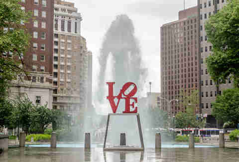 Love Park, Love Park Fountain, Love Park Philly