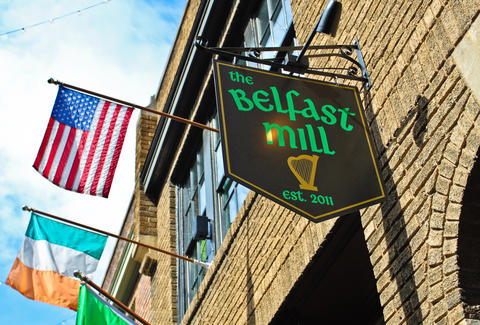 the belfast mill charlotte north carolina best irish bars