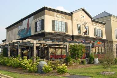exterior of the galway hooker irish pub in charlotte