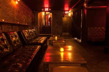 The Basement bar and comedy venue in San Francisco