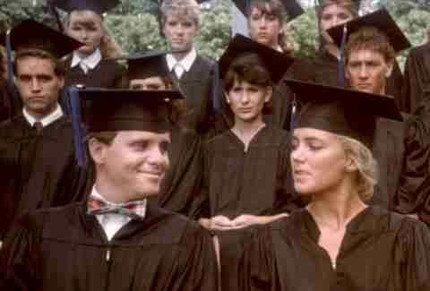 Porky's Revenge, Graduation scene, Soundtrack
