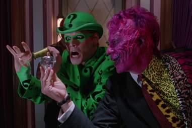 Batman Forever, Riddler, Two-Face, Tommy Lee Jones, Jim Carrey